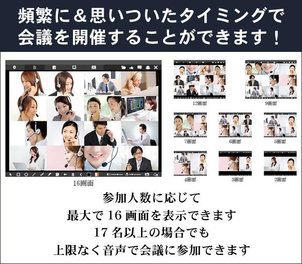 思いついたタイミングで会議 WEB会議の仕組み 札幌 外食ビジネス専門家 有限会社ファインド 太田耕平