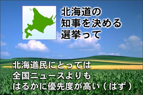 知事選挙の優先度 フードビジネス 専門家 研究所 ファインド 札幌 太田耕平