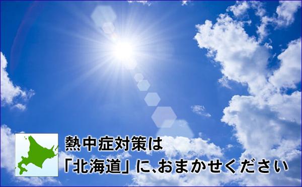 熱中症対策は北海道へ移住 フードビジネス 専門家 研究所 ファインド 札幌 太田耕平